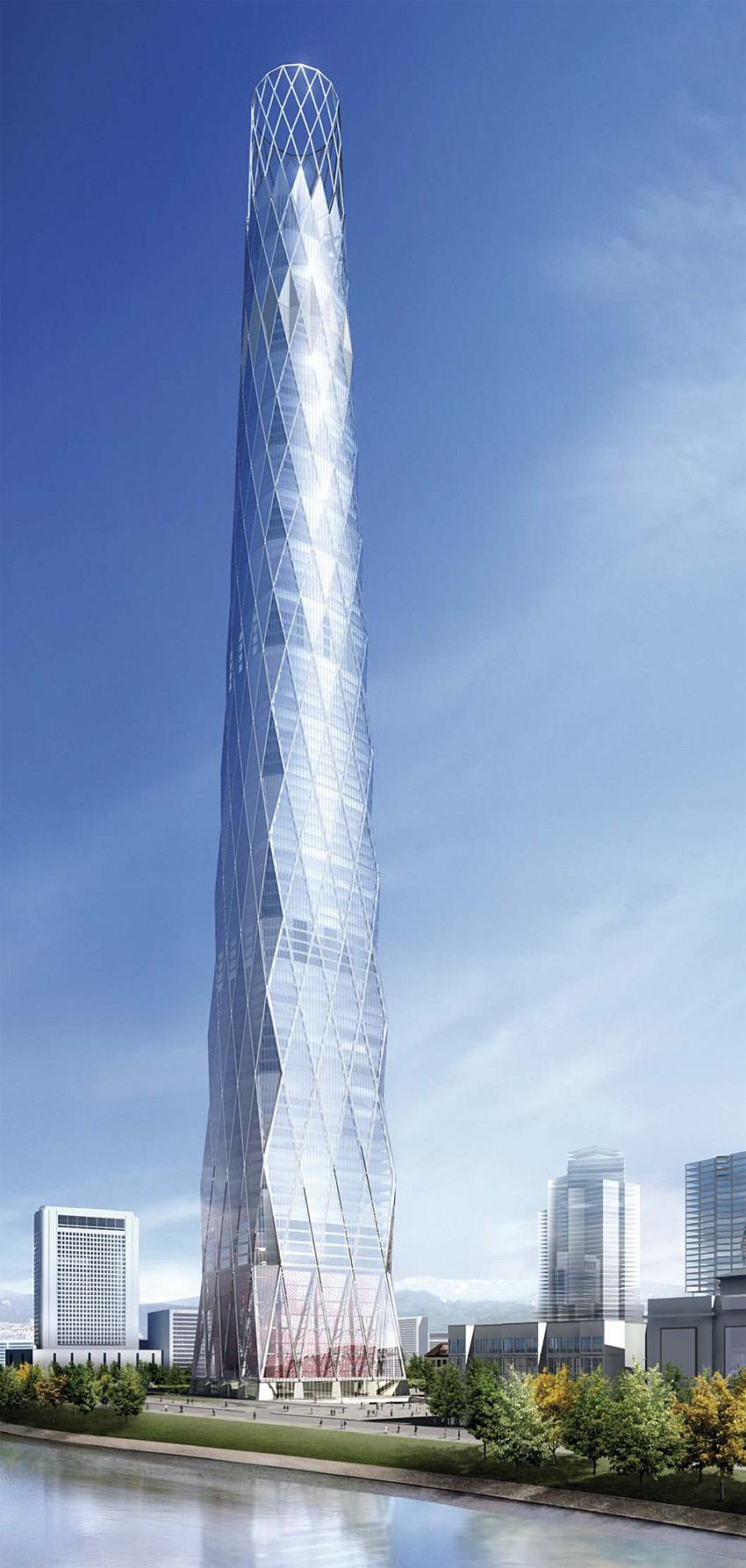 torre rossia tiene m de altura esta en moscu russia y la diseo el arquitecto foster partners este es el edificio mas alto de russia de europa y de